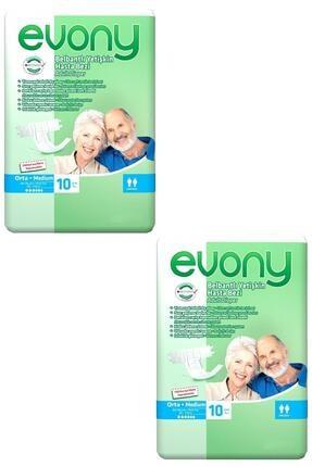Evony 10'lu Orta Medium Yetişkin Bezi 2 Adet