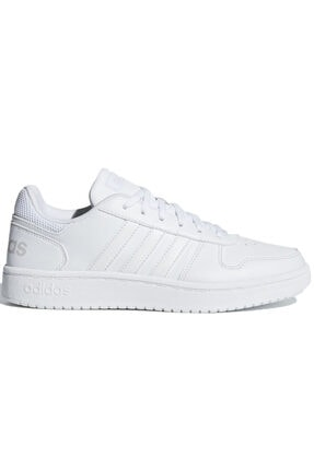 adidas HOOPS 2.0 Beyaz Kadın Sneaker Ayakkabı 100402598
