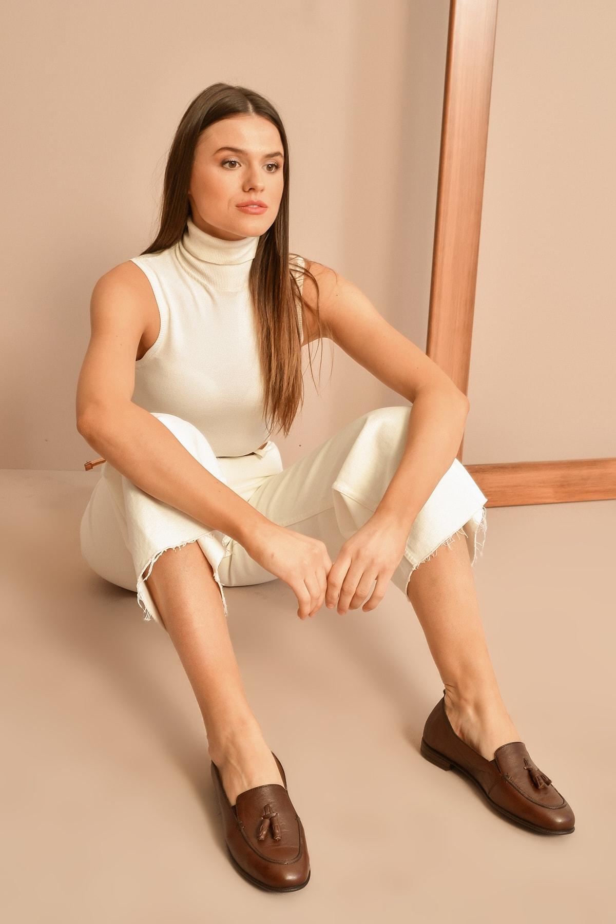 Ziya KAHVE Kadın Casual Ayakkabı 10319 4036