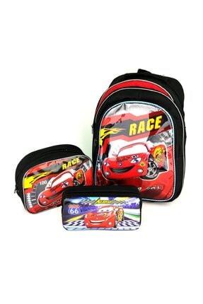 Hakan Çanta Cars Şimşek Mac Queen Okul Seti-çanta-beslenme-kalemlik