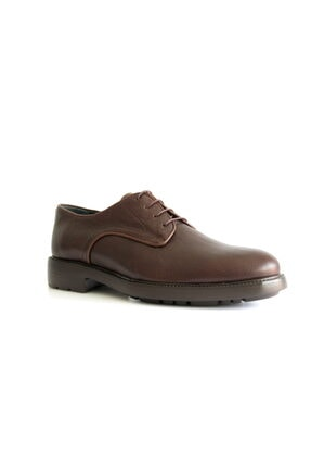 Beta Shoes Erkek Kahverengi Deri Ayakkabı