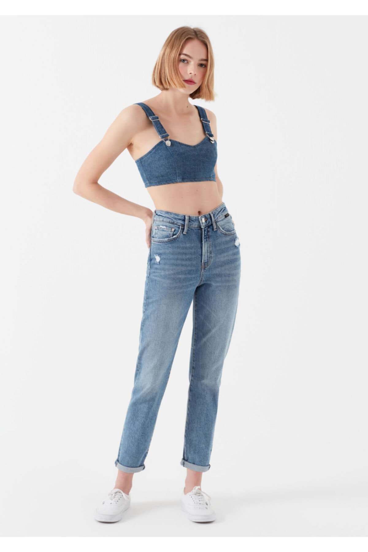 Mavi Kadın Mavi Star Gold Icon Jean Pantolon 1