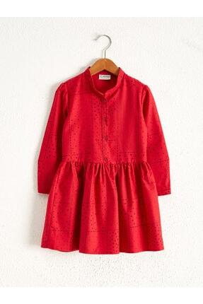 LC Waikiki Kız Çocuk Kırmızı Elbise