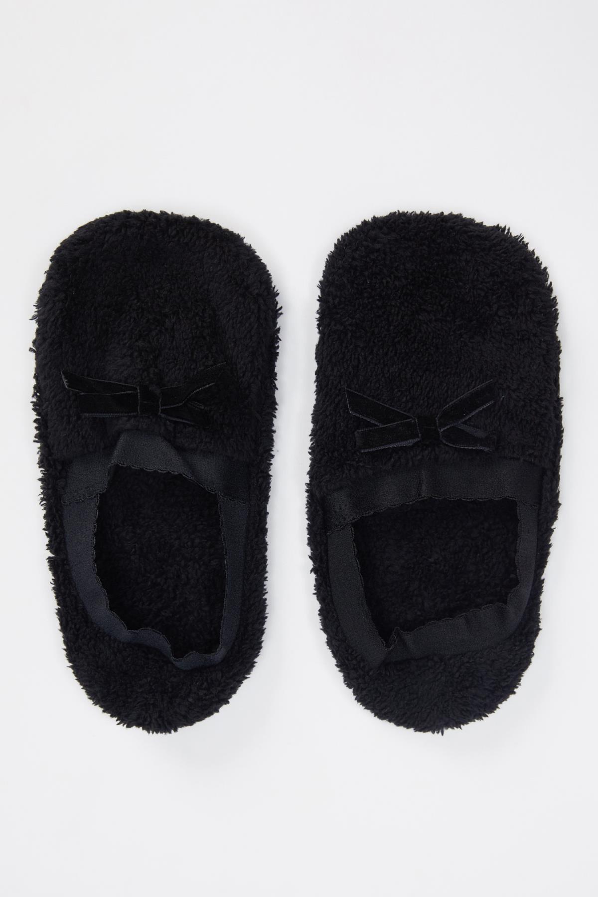 DeFacto Kadın Peluş Ev Ayakkabısı N1335AZ20AU
