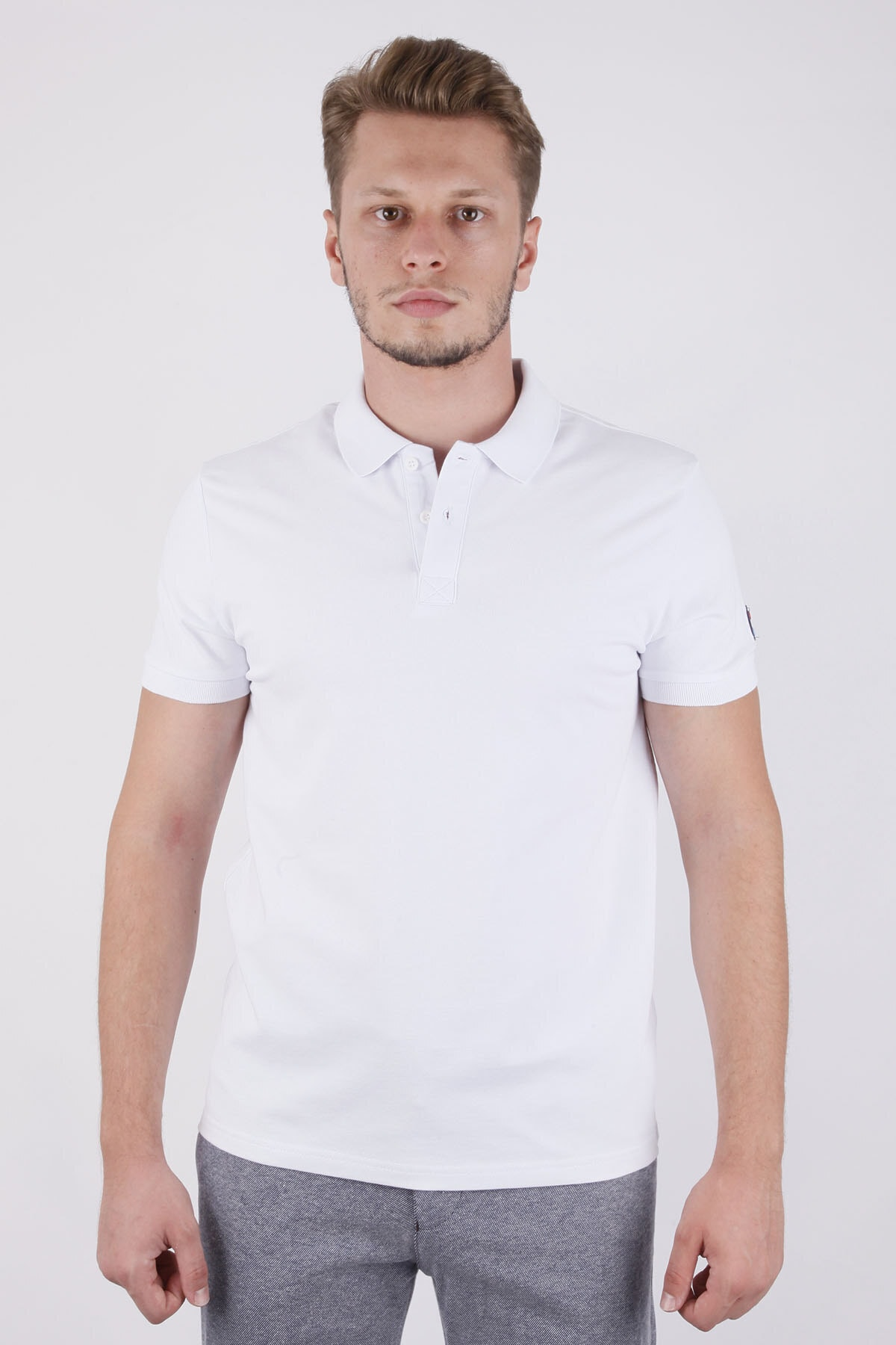 Canelia Erkek  Beyaz T-shirt 1