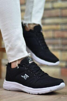 Marsetti Unisex Siyah Spor Ayakkabı