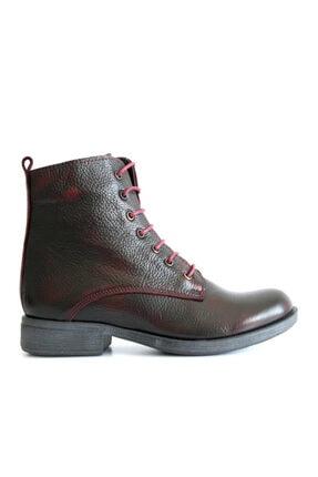 Beta Shoes Kadın Bordo Bot