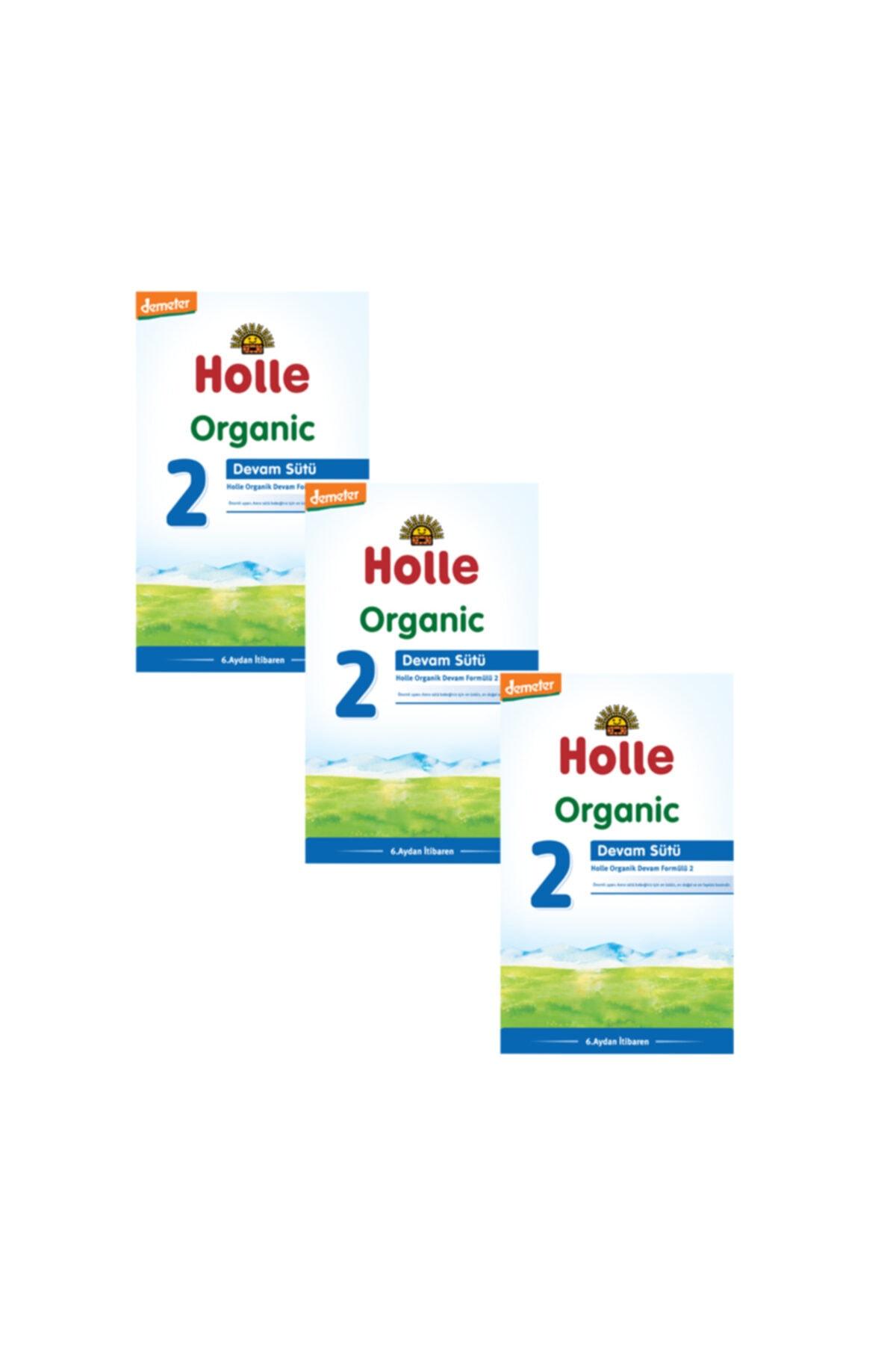 Holle Organik Devam Sütü 2 600 gr - 3'lü Paket 1