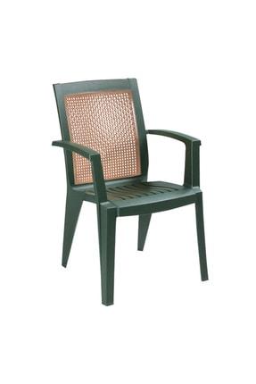 Papatya Sapphire Yeşil Plastik Sandalye