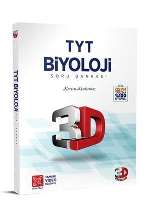 Çözüm Yayınları Tyt 3d Biyoloji Tamamı Video Çözümlü Soru Bankası 3d Yayınları