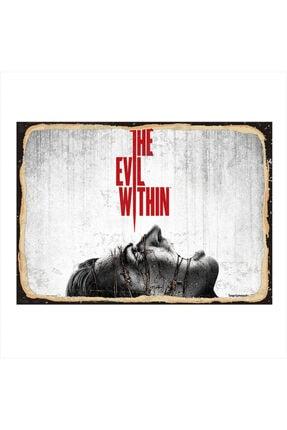 Tablomega Ahşap Tablo The Evil Within 25cm X 35cm