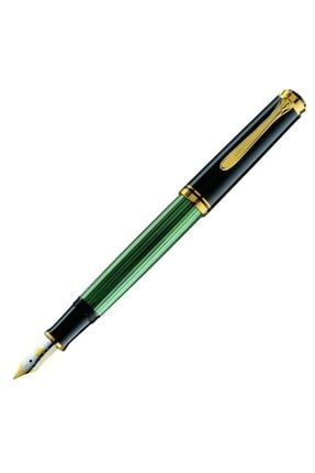 Pelikan Souveran Sedefli Yeşil-siyah M400 14 Ayar Altın