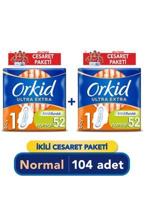 Orkid Ultra Extra Normal Cesaret Paketi 104'lü