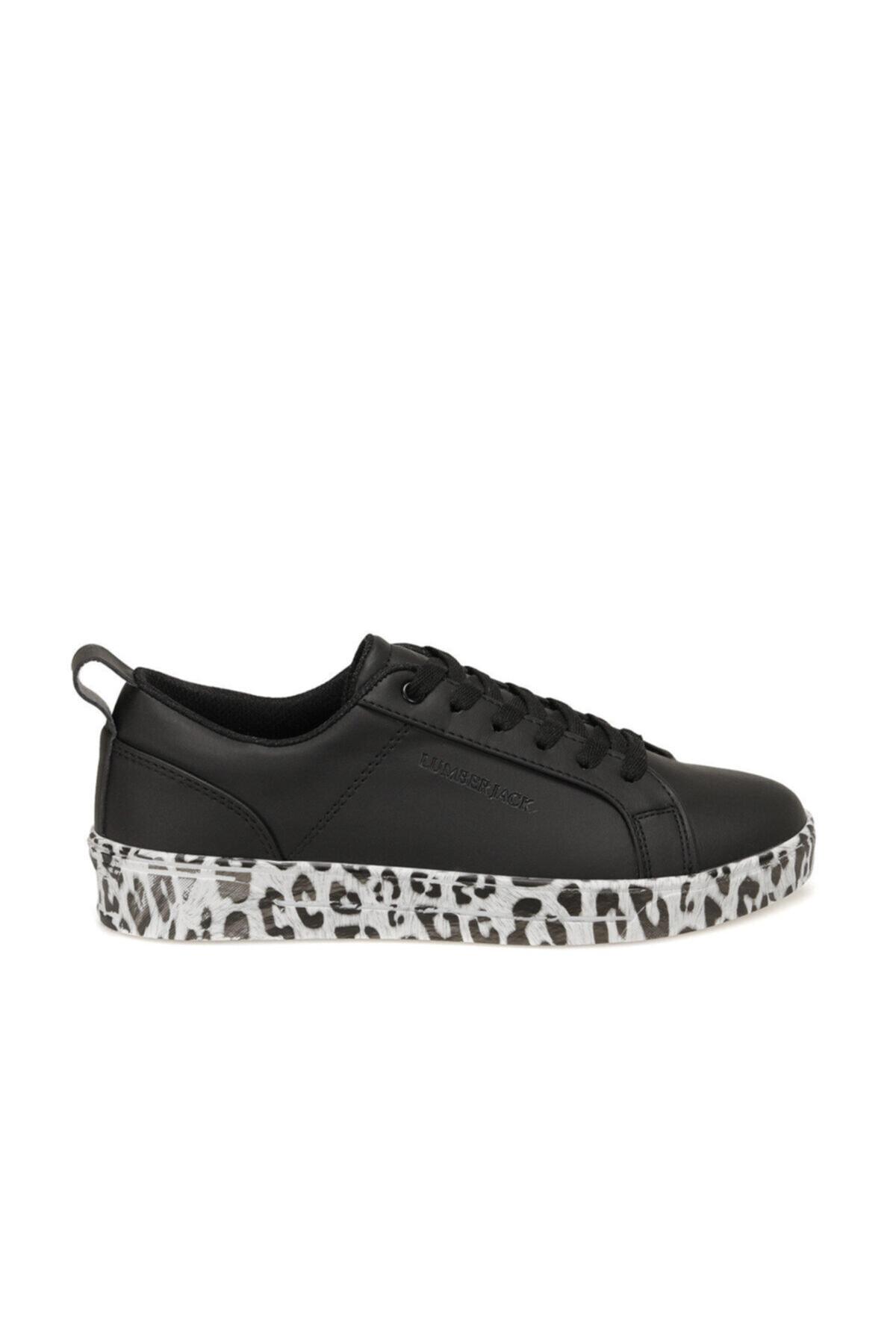 lumberjack Anıme Siyah Kadın Sneaker Ayakkabı 2