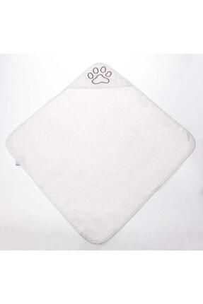 Liya Köpek Havlusu (beyaz Pati Desenli)