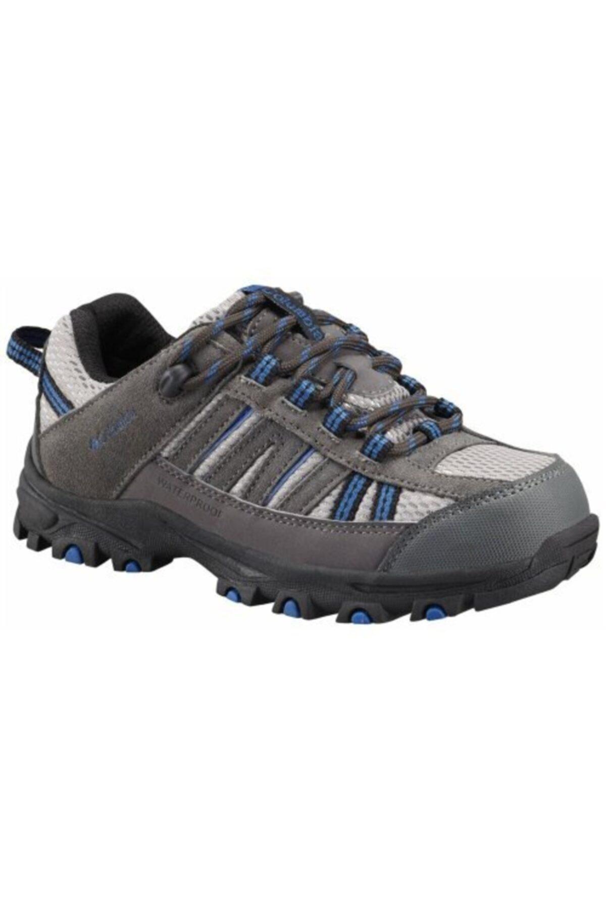 Columbia Erkek Gri Youth Pısgah Peak Outdoor Ayakkabı By3225 1