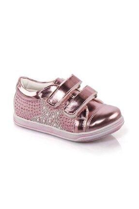 Vicco Kız Çocuk Pembe Taşlı Bantlı Günlük Ayakkabı