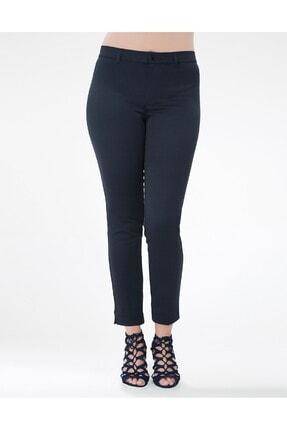 GEBE Kadın Lacivert Buyuk Beden Pantolon