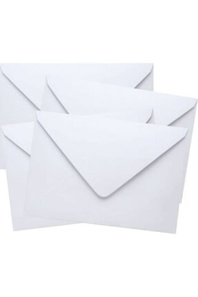 Asil 114x162 Mm Silikonlu 90 Gr Mektup Zarfı 100 Adet