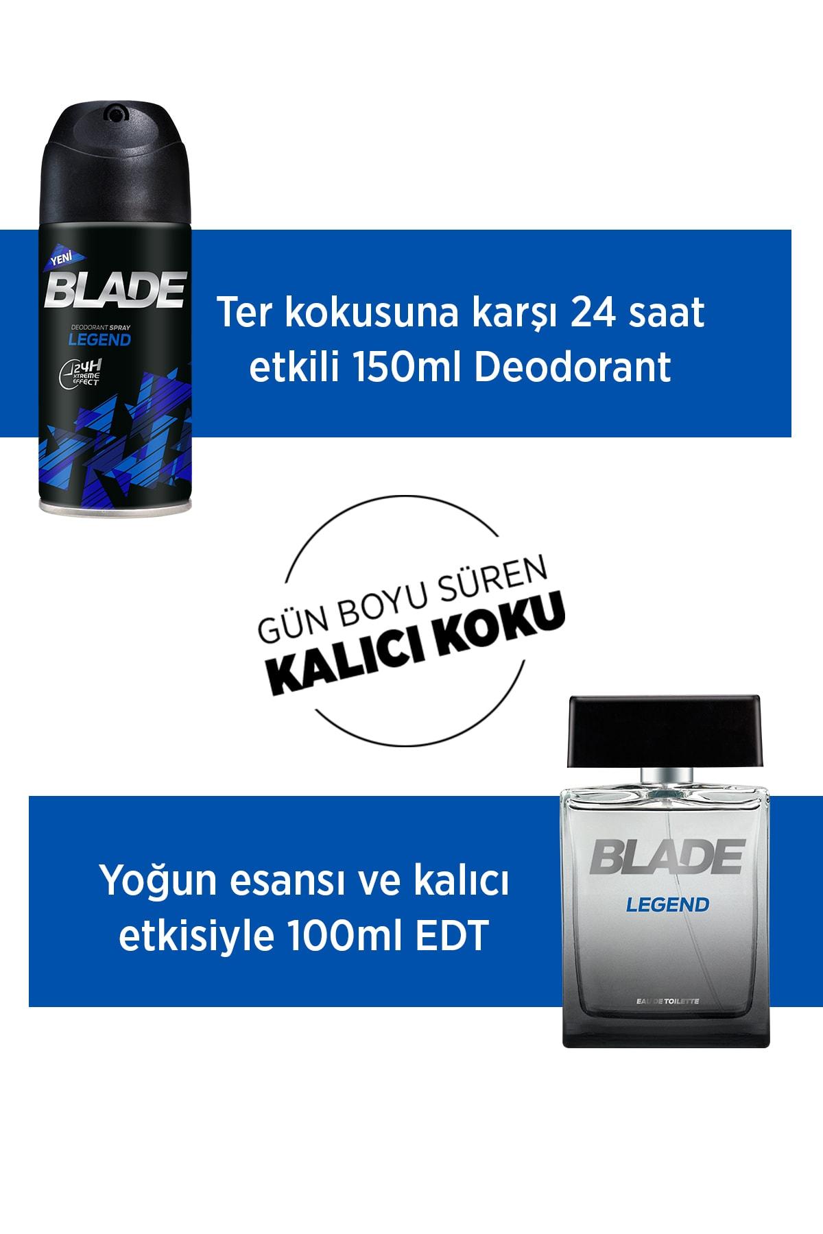Blade Legend Erkek Deodorant 3x150ml 2