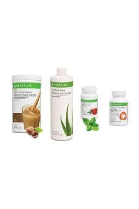 Herbalife Aşağı Kilo Kontrol Paketi Fındık 550 Gr+aloe Vera 473 Ml+thermo Complete 90 Tablet+klasik Çay 50 Gr