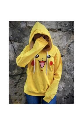 Köstebek Pokemon - Pikachu (unisex) Kapüşonlu