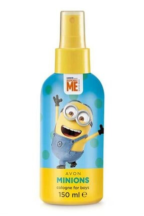 AVON Minions Edc 150 ml. Erkek Çocuklar Için Sprey Parfüm 5059018070623