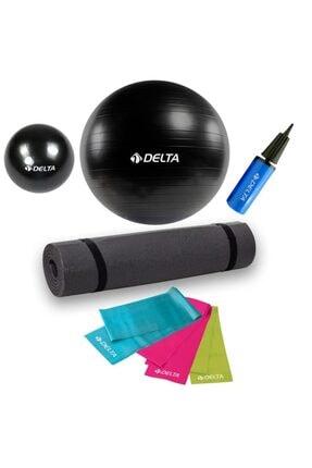 Delta Pilates Ve Yoga Seti 5'li Evde Pilates Seti Özel Pilates Set