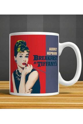 MET DESİGN Audrey Hepburn Breakfast Tiffany Porselen Kupa Bardak