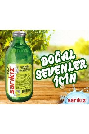 Sarıkız Alaşehir Sarıkız Doğal Maden Suyu 24'lü 250 Ml