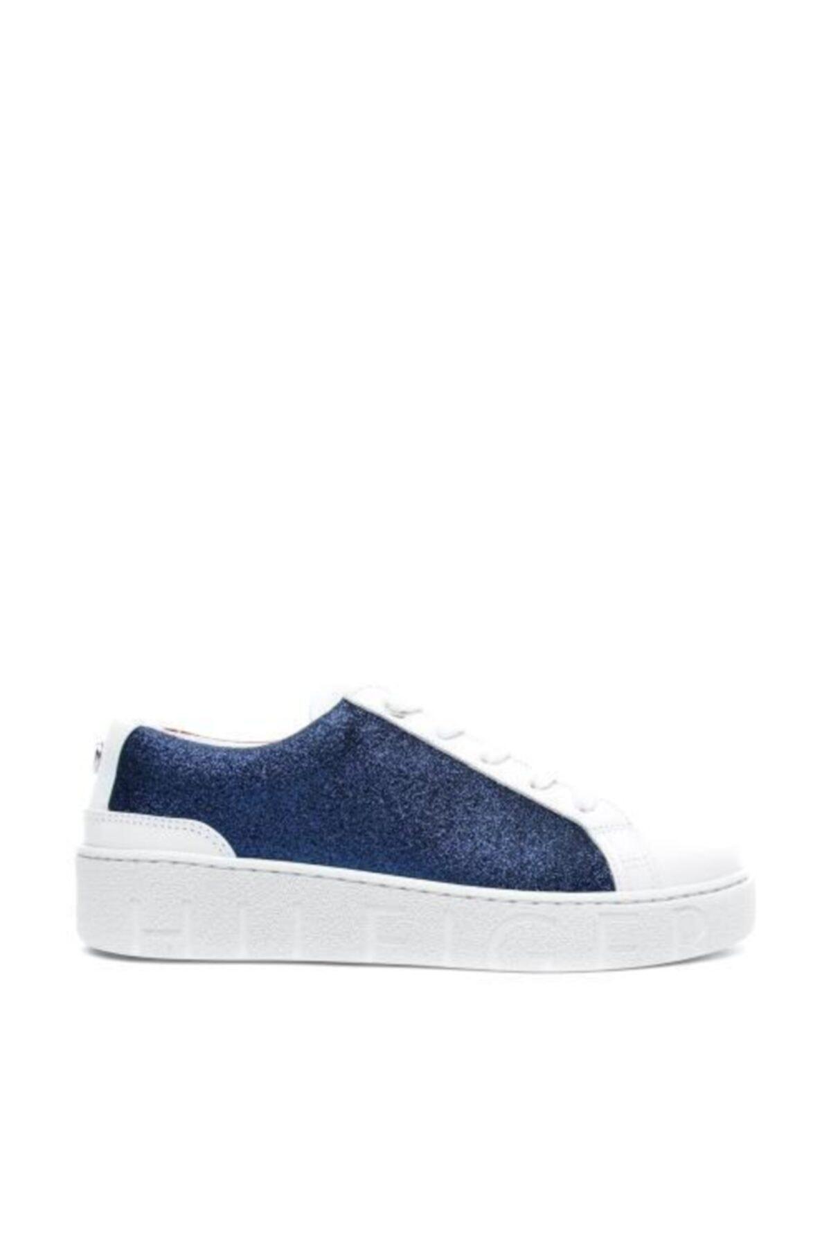 Tommy Hilfiger Kadın Mavi Bağcıklı Ayakkabı 1