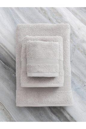 LCW HOME Açık Kahverengi Banyo Havlusu