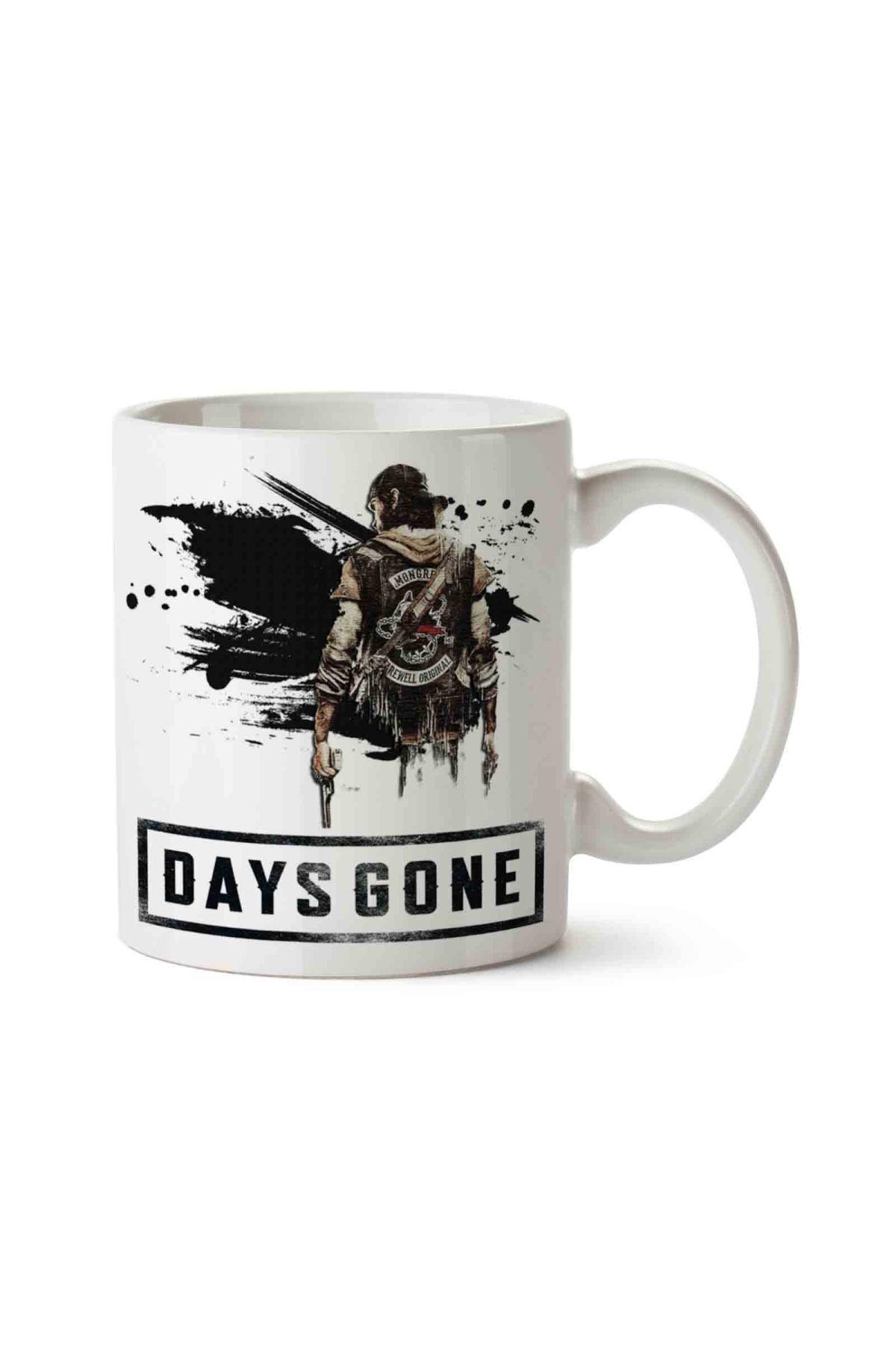 MET DESİGN Days Gone 4 Porselen Kupa Bardak 1