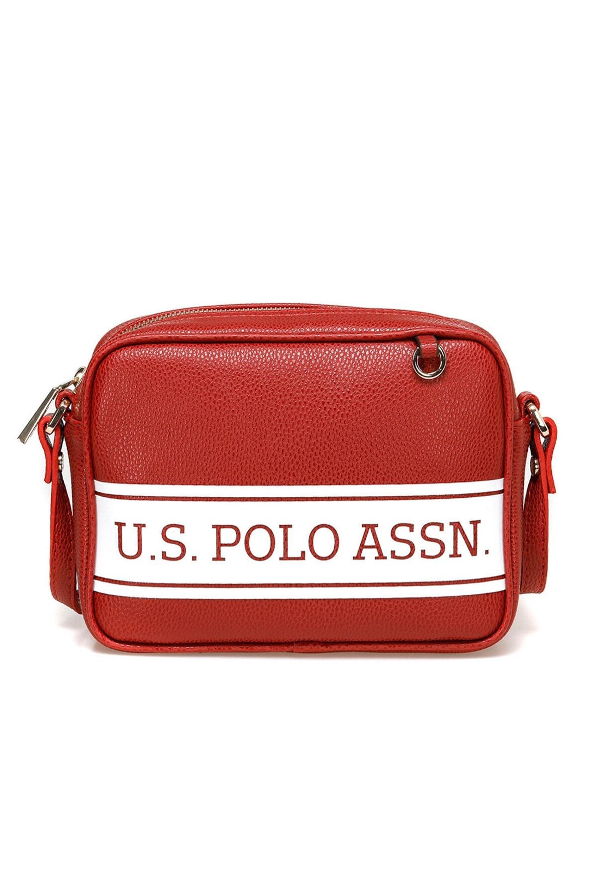 U.S. Polo Assn. Kırmızı Kadın Omuz Çantası US20266 1