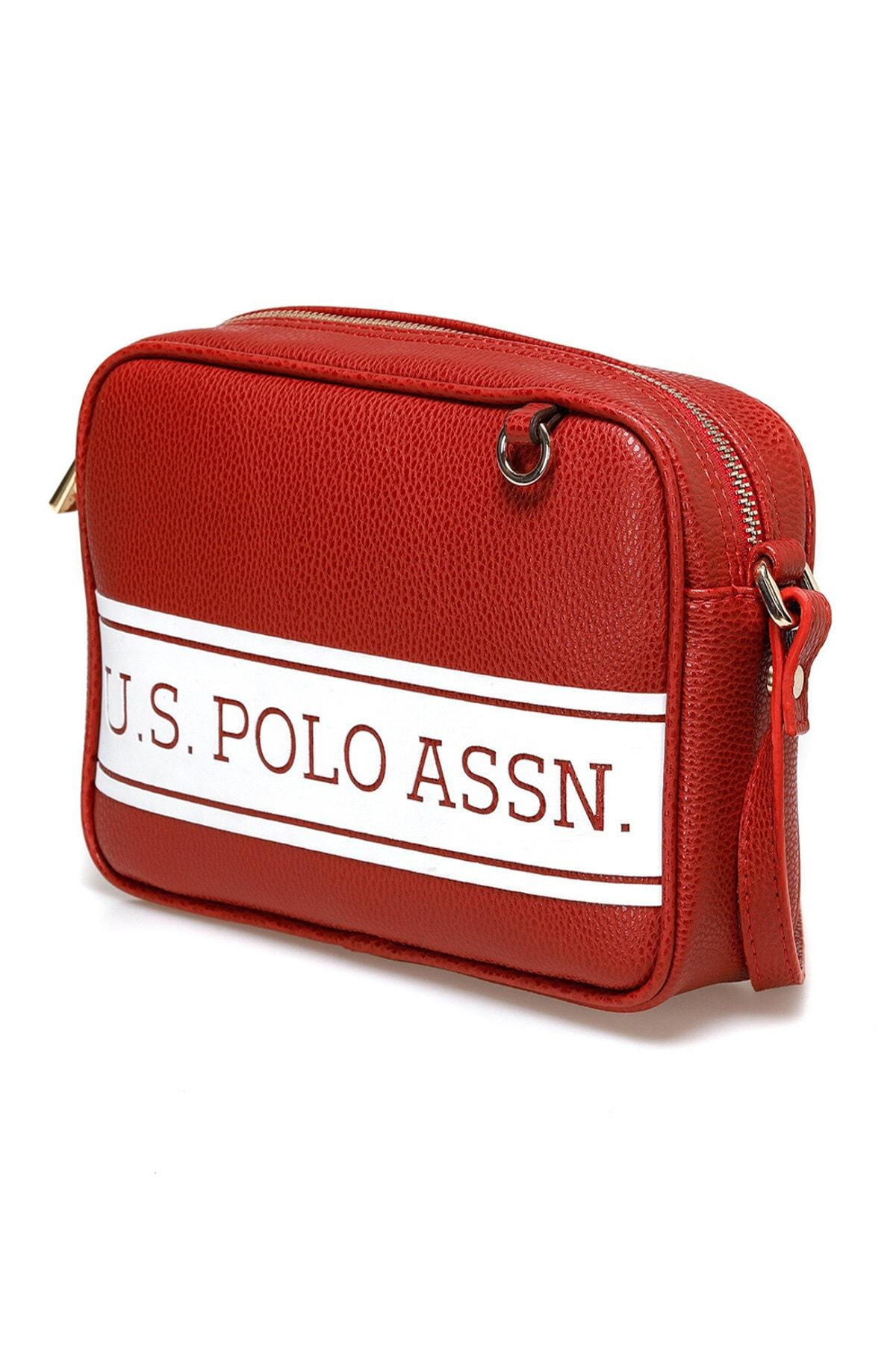 U.S. Polo Assn. Kırmızı Kadın Omuz Çantası US20266 2