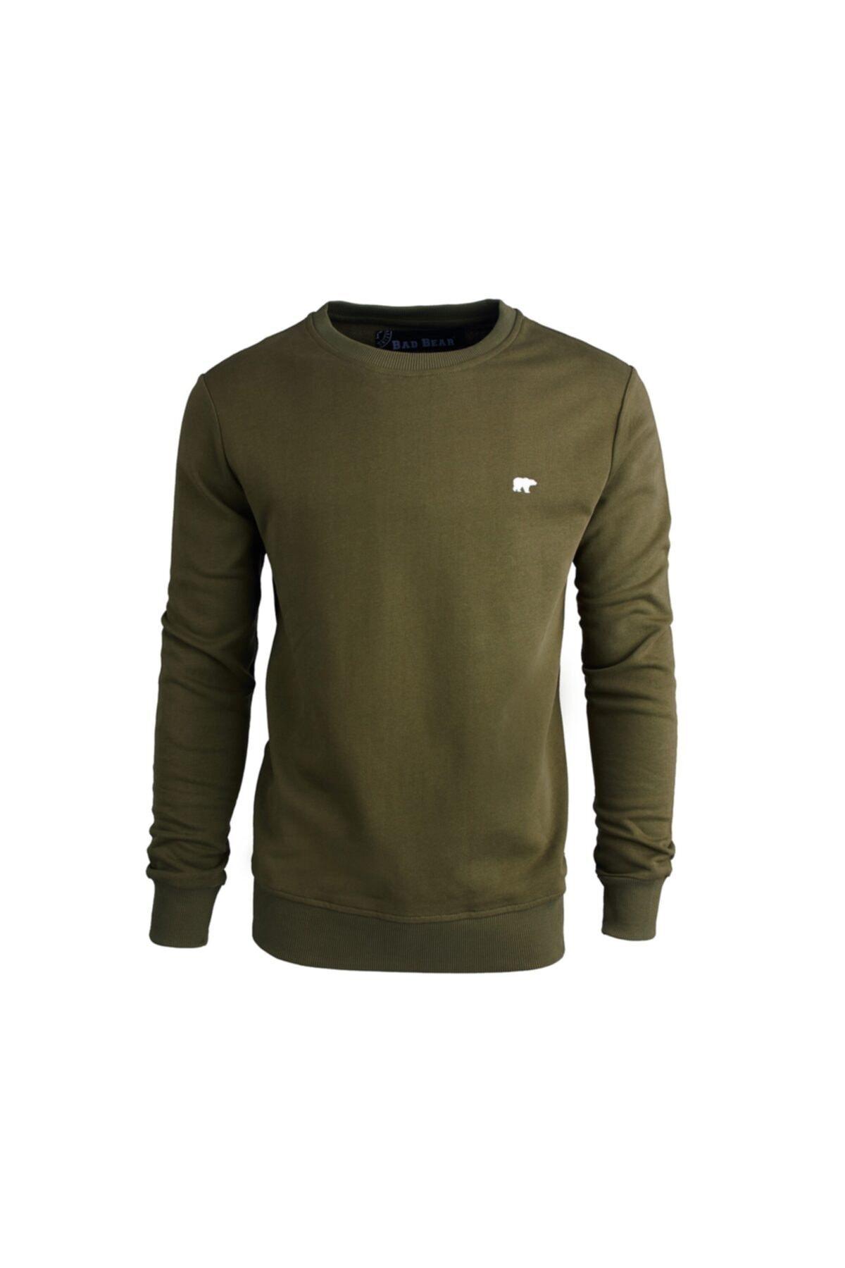 Bad Bear Erkek Haki Sweatshirt Presage 200212012-khk 1