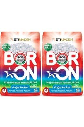 Eti Matik Boron Doğal Mineralli Temizlik Ürünü Doğal Renkler 4 kg 2 Adet
