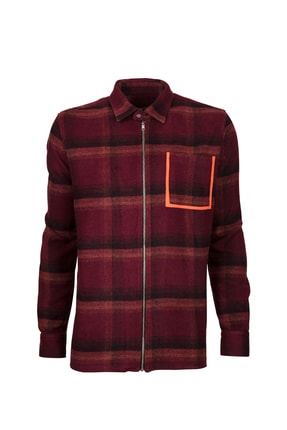 Bad Bear POCKET SHIRT MAROON