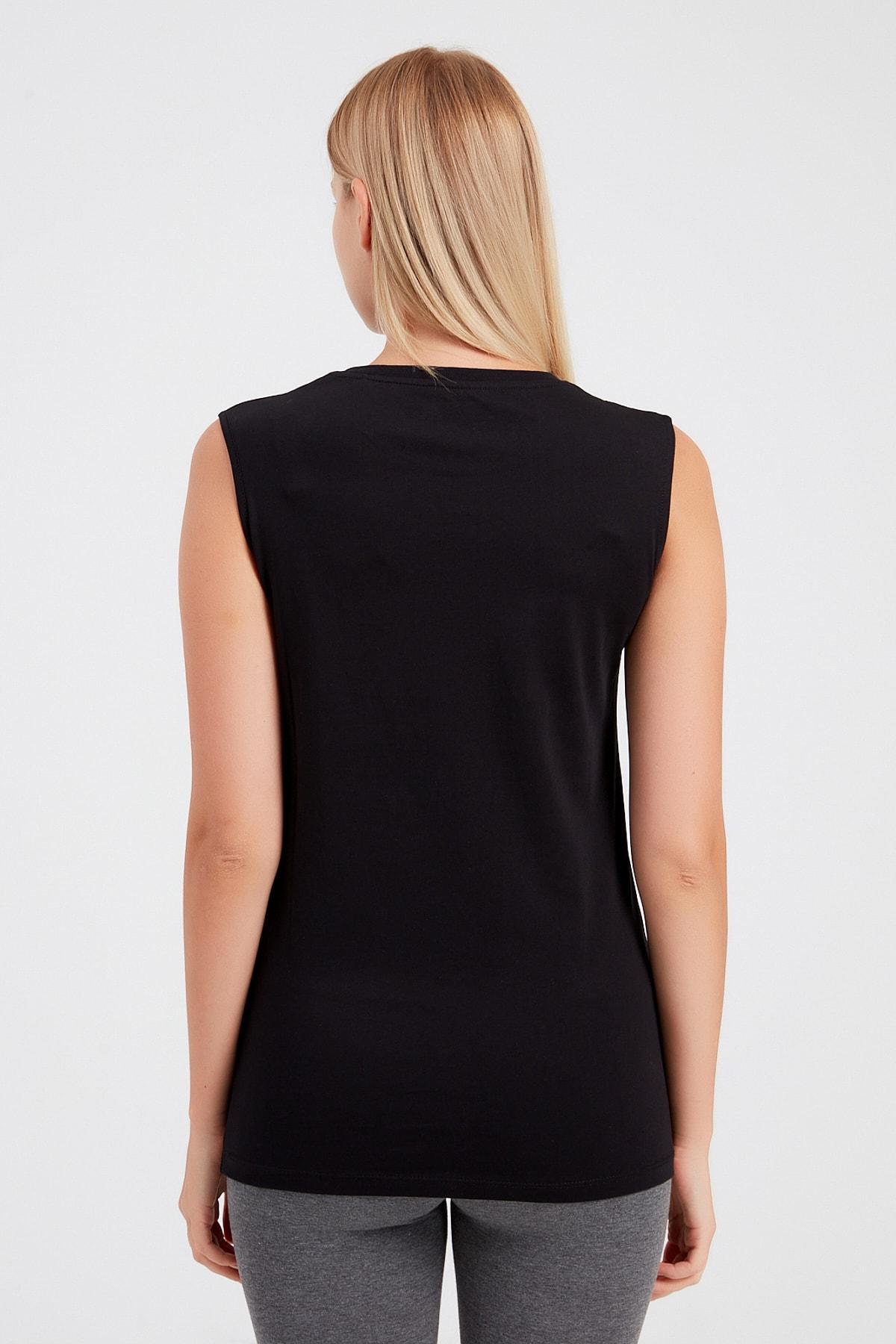 New Balance Kadın T-shirt - Vom Athlete Tee - V-WTT917-BK 2