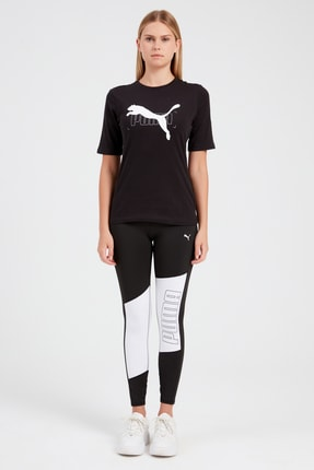 Puma Kadın Spor Tayt - Train Favorite Logo 7 8 Tight  -  51954201