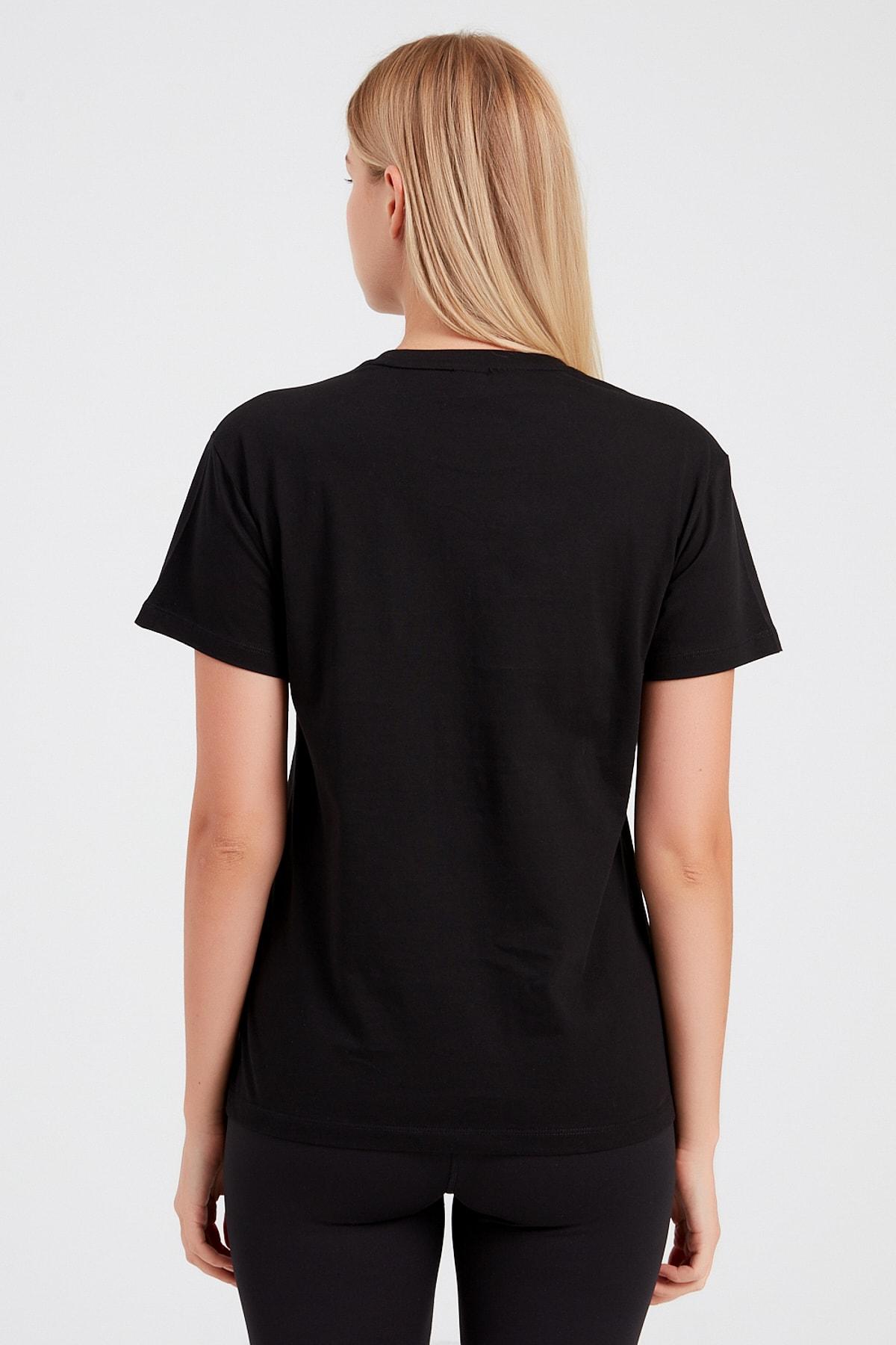 Puma Erkek Siyah Classics Logo Tee T-shirt 2