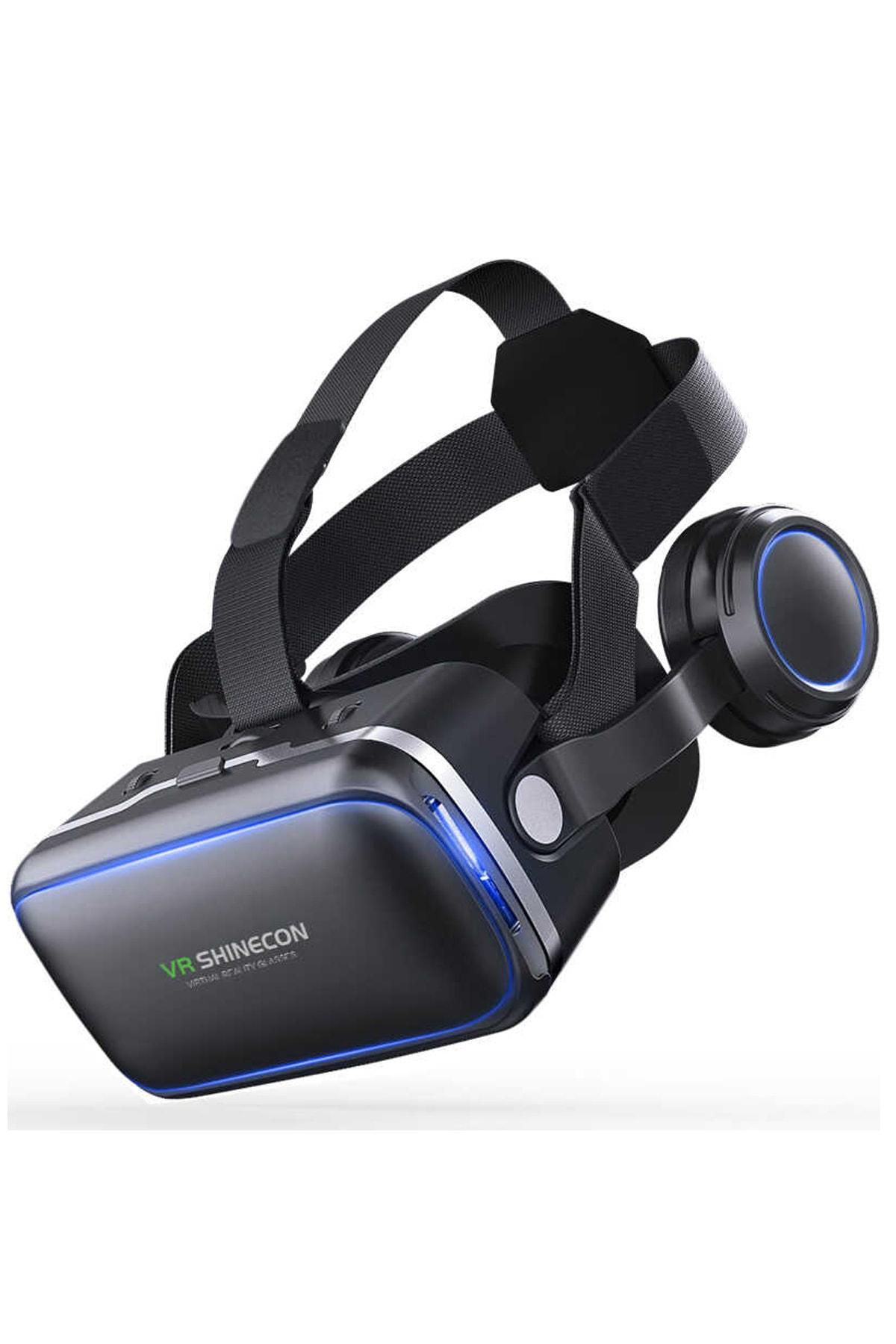 VR Shinecon Shinecon 3D Sanal Gerçeklik Gözlüğü 3.5-6.2 İnç 1
