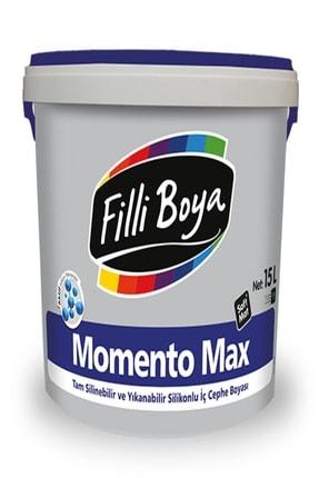 Filli Boya Andezit 10 Renk Momento Max Silikonlu İç Cephe Boyası 15 lt
