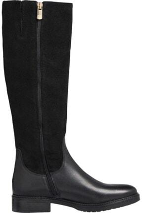 Tommy Hilfiger Kadın Siyah Çizme Modern Tommy Long Boot FW0FW05163