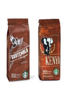 Starbucks Guatemala Ve Kenya Filtre Kahve 2 Paket 2x250 Gr ( Istek Üzerine Öğütülür)