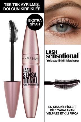 Maybelline New York Kıvrım Ve Hacim Etkili Ekstra Siyah Maskara - Lash Sensational Intense Black Mascara 3600531230906