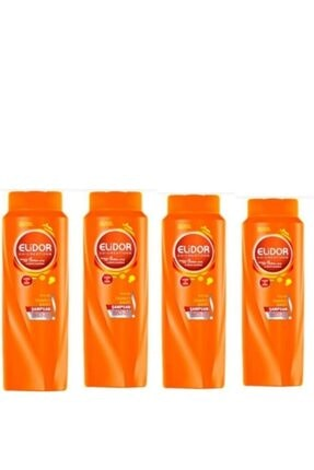 Elidor Anında Onarıcı Bakım Şampuanı 500ml x 4 Lü Set