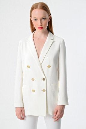Armani Exchange Kadın Beyaz Ceket