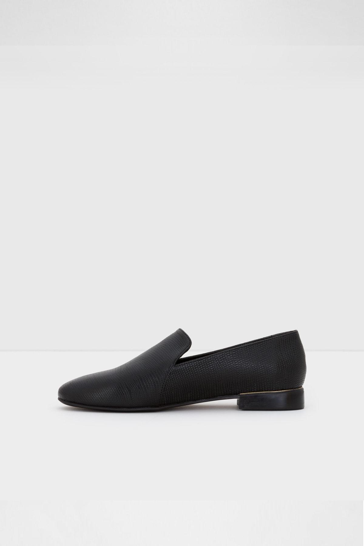 Aldo Kadın Siyah Rıramma Loafer Ayakkabı 2