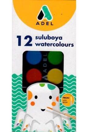 Adel Suluboya 12 Li Fırça Yıkama Kabı Hediyeli
